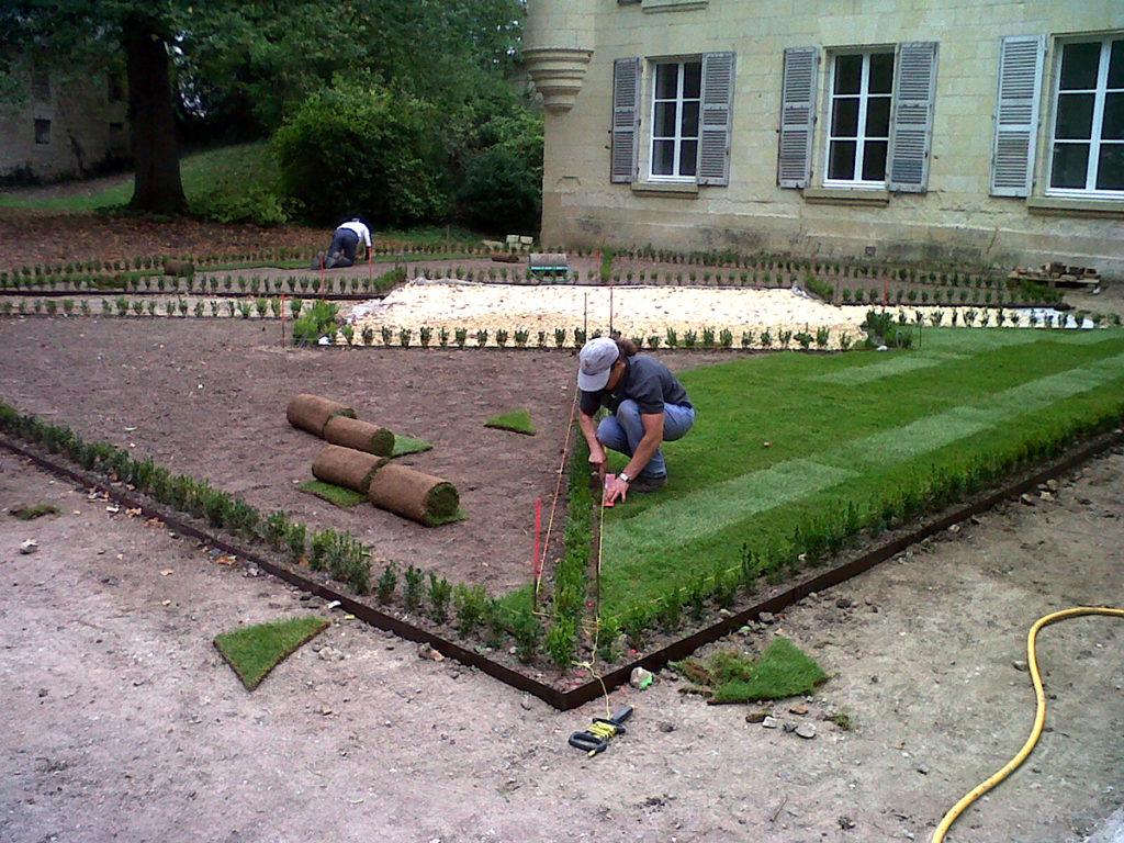 Creation de jardin à la française